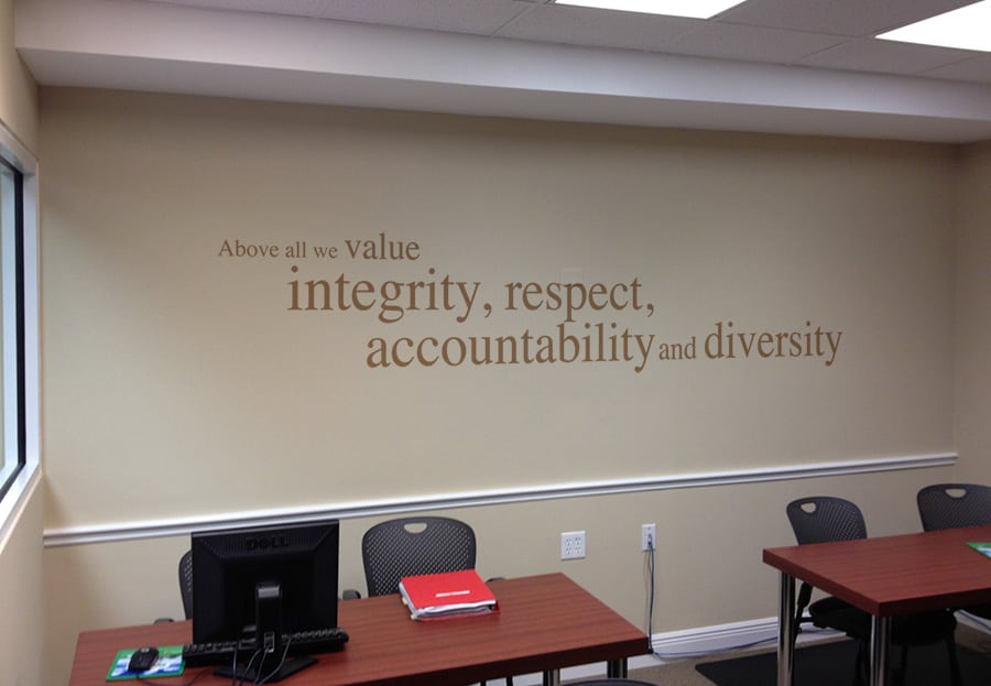 AnswerFirst's Values Statement: Above all we value integrity, respect, accountability and diversity.