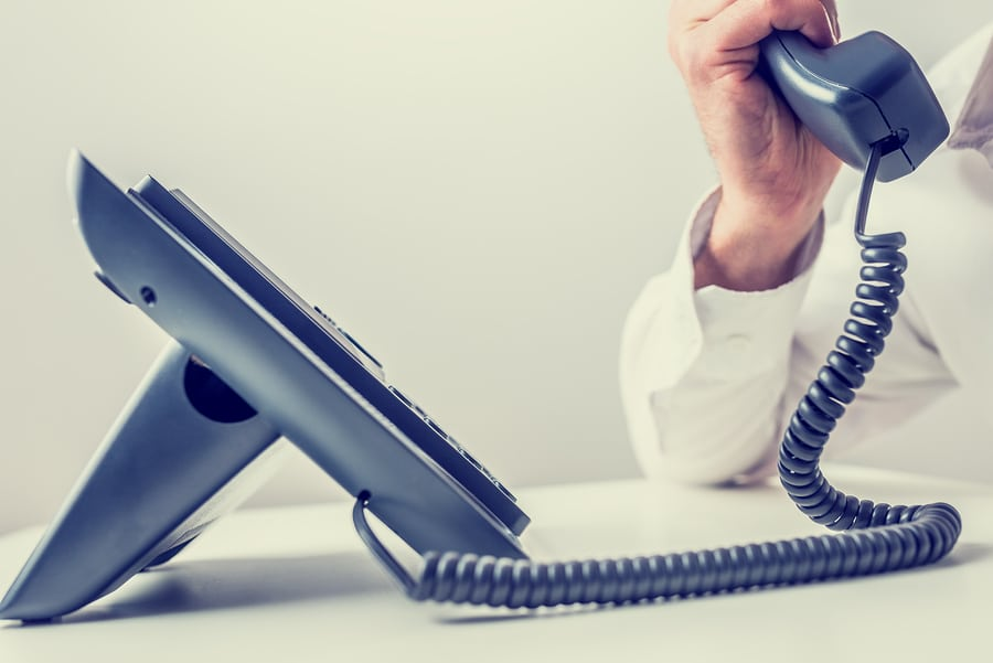 Can an answering service act as a landline?