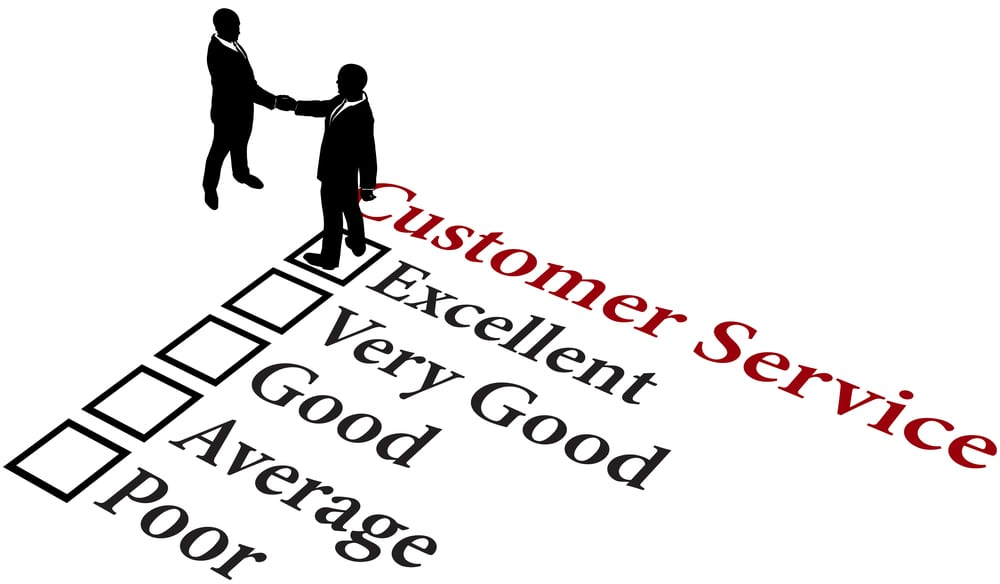 Customer Service Rating Scale