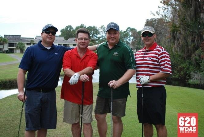 Team AnswerFirst at the Ron Diaz Christmas Classic Golf Tournament