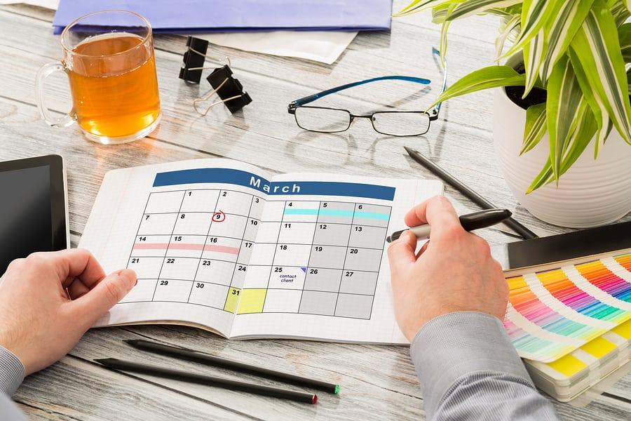 Calendar Events Plan Planner Organization Organize - stock image.