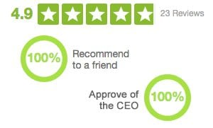 AnswerFirst's Glassdoor Rating