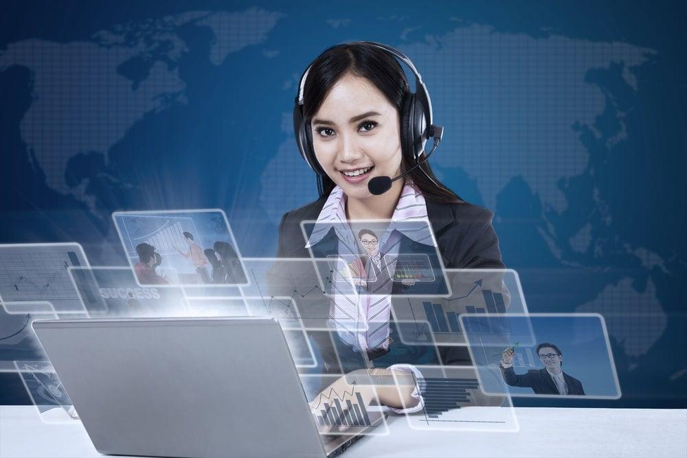 Virtual Receptionist Concept