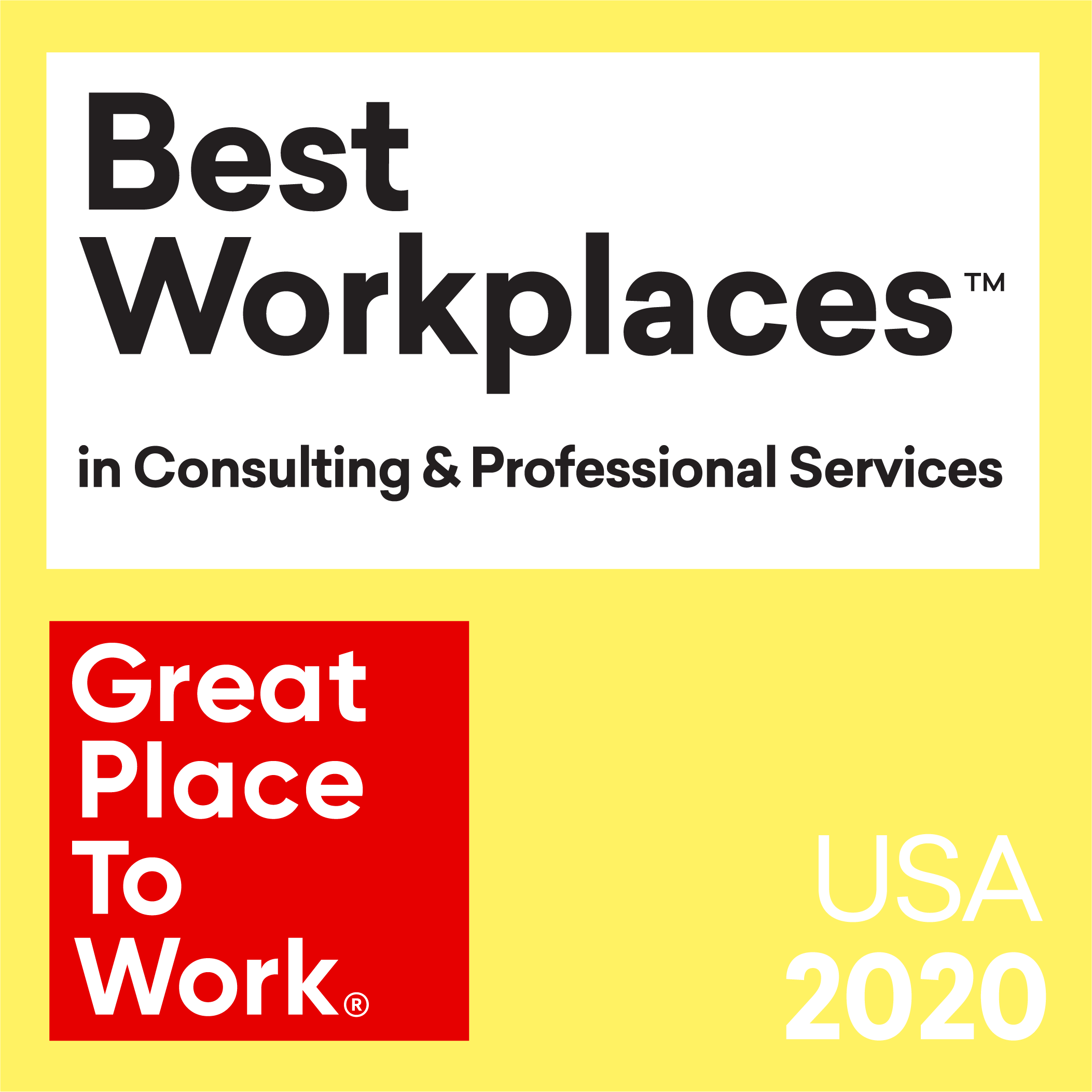 2020 Great Places To Work
